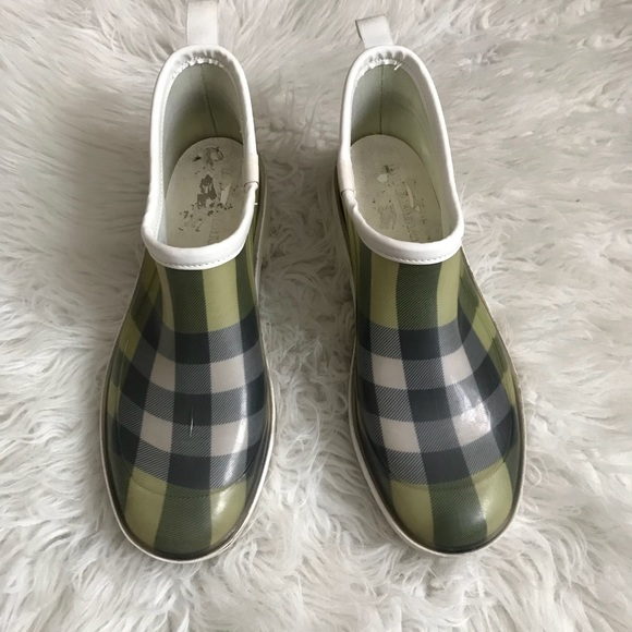burberry ankle rain shoes